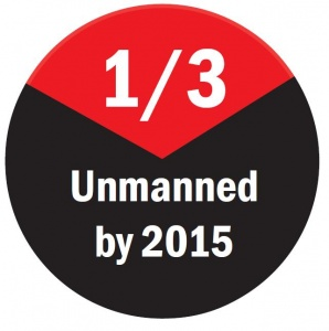 1/3 Unmanned By 2015 Button
