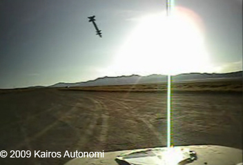 Kairos Moving Land Target used in training at NAS Fallon